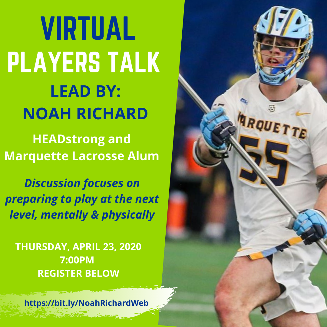 HEADstrong Lacrosse: Preparing For The Next Level With Noah Richard