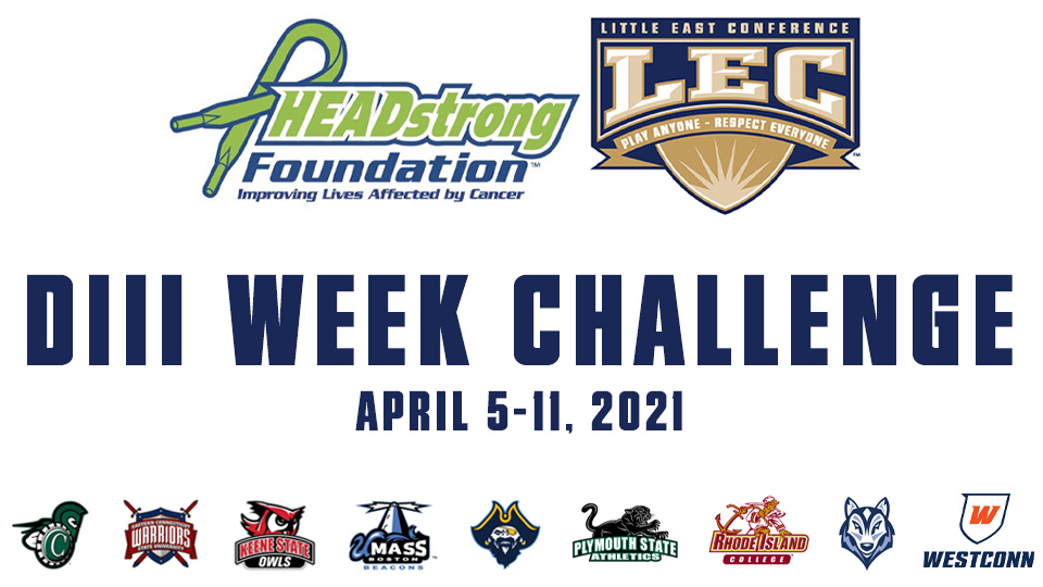 HEADstrong Teams Up With Little East Conference For DIII Week Challenge