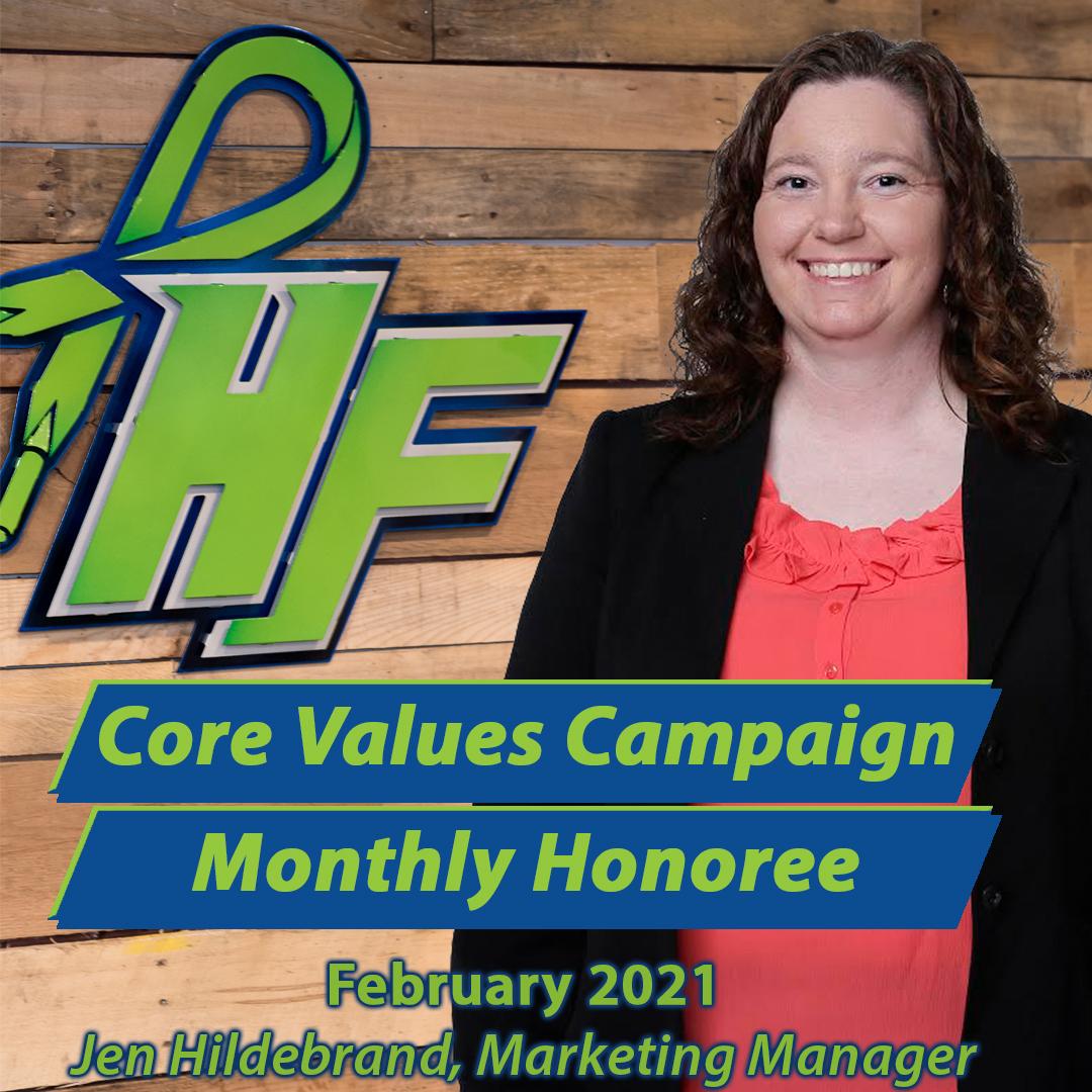 Core Values Campaign – February 2021